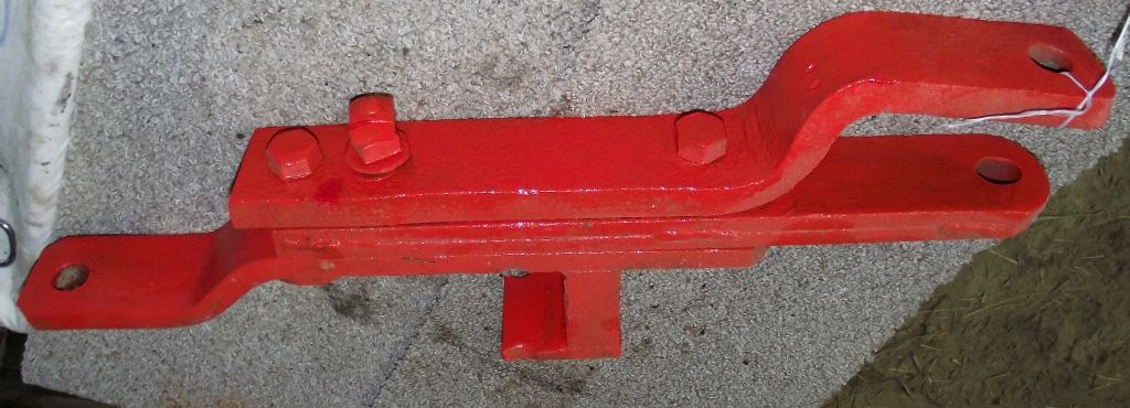 Used Tractor Draw Bars : Original vintage nuffield tractor reversible drawbar